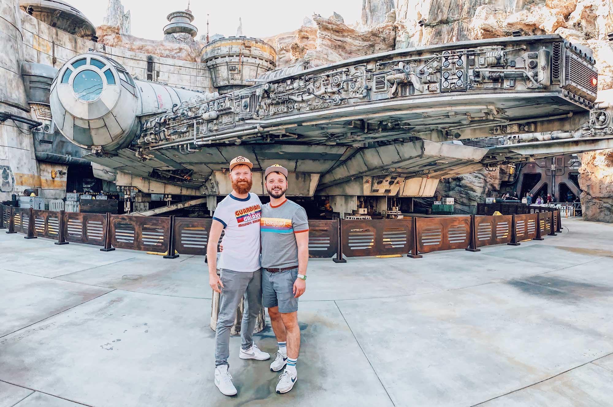 Disney Star Wars Land Galaxy's Edge Anaheim California