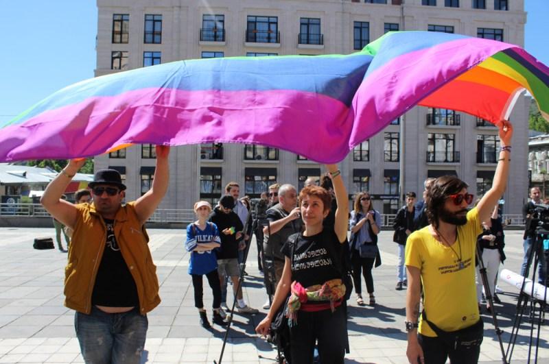 Gay in the Republic of Georgia Zur aktuellem Situation der LGBTQ+ in Georgien © Mikheil Meparishvili www.netgazeti.ge