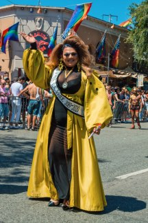 Gorgeous! Happy Pride Miss LA Pride 2019-2020 © Coupleofmen.com