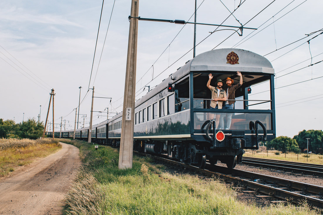 Rovos Rail Namibia Safari Bye Bye Africa! We are going to miss you! Looking forward to our next Rovos Rail Adventure! © Coupleofmen.com