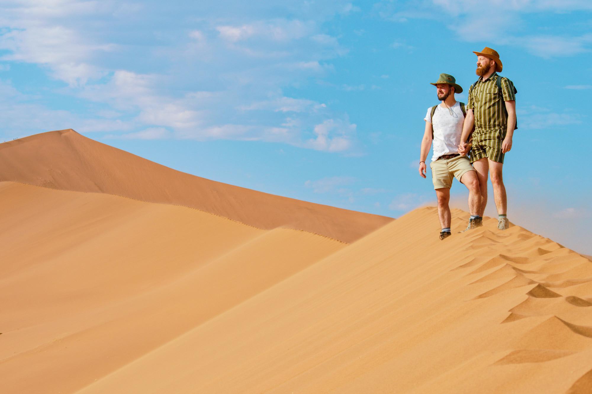 Sossusvlei Dunes Namib Desert © Coupleofmen.com