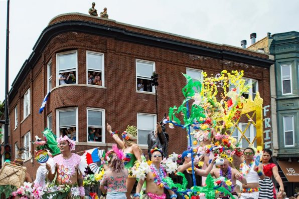 Chicago Gay City Tipps Feeling safe? Police presence during Chicago Pride Parade 2019 © Coupleofmen.com