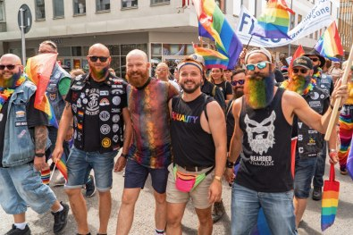 Gay Pride Malmö 2019 Among rainbow beards - Some inspirations for our next pride in 2019 or 2020? © Coupleofmen.com