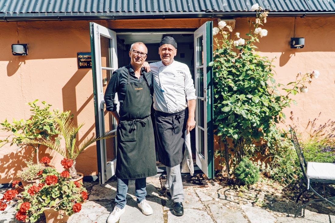 Gay-owned Karnelund Krog & Rum Proud owners of Karnelund Krog & Rum, gay couple Janne and Peter © Coupleofmen.com