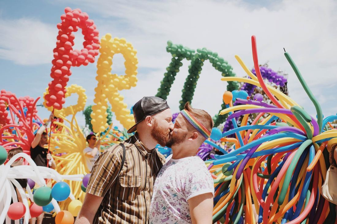 Portland Pride Gay-LGBTQ+ Celebration in Oregon © Coupleofmen.com
