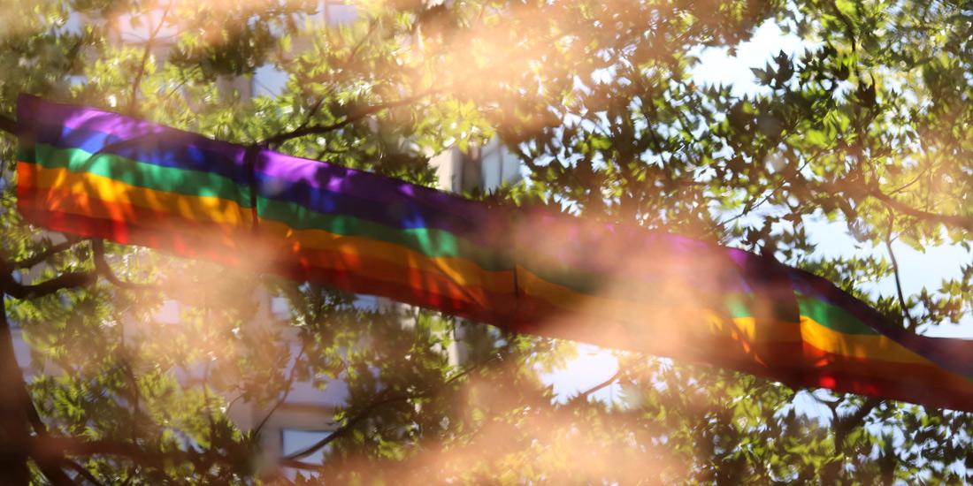 Schwul im Libanon: Regenbogenflagge für die LGBTQ+ Community
