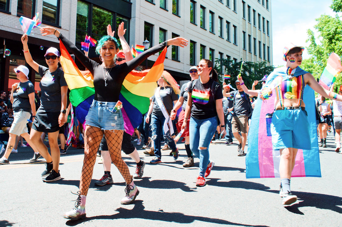 Young, Out and Proud: Queer and Trans Youth in Portland © Coupleofmen.com