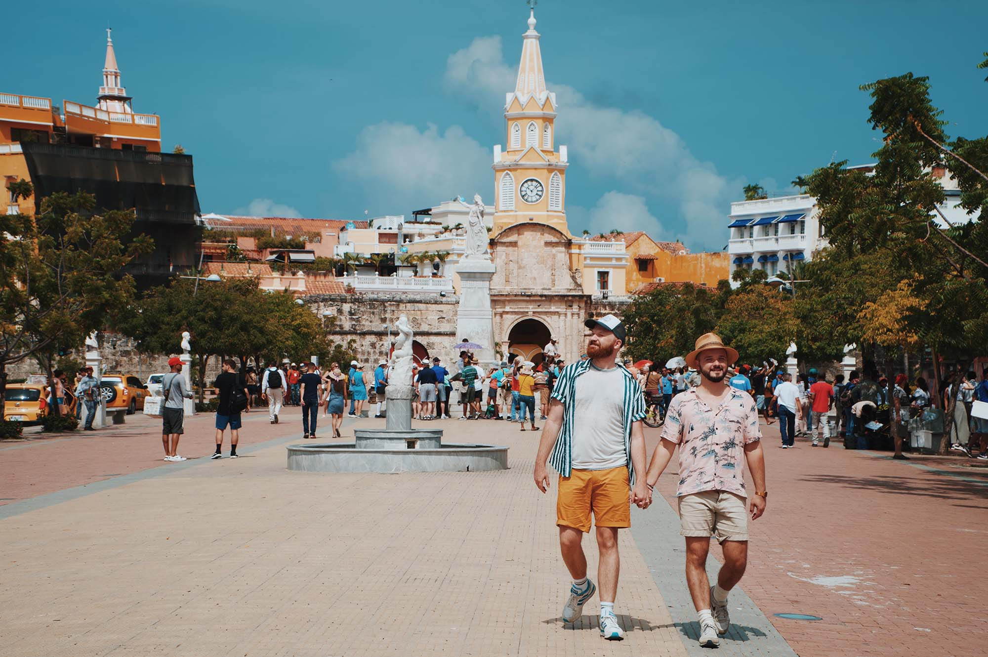 Hand-in-hand in Cartagena: The best of gay-friendly Colombia through a Couple of Men's eyes © coupleofmen.com