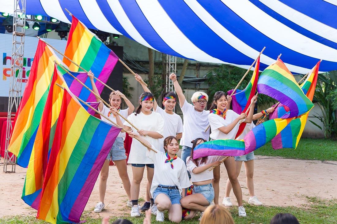 Schwul in Vietnam Gay in Vietnam LGBTQ+ Gay Pride in Vietnam © ICS Ho Chi Minh City