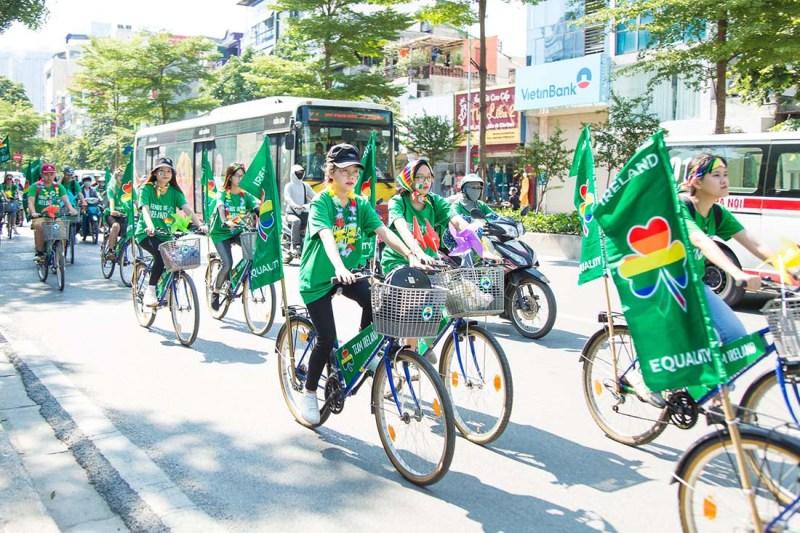 Schwul in Vietnam Gay in Vietnam Gay Pride on Bikes © ICS Ho Chi Minh City