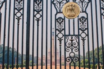 Gay Reise Indien President Palace in New Delhi © Coupleofmen.com
