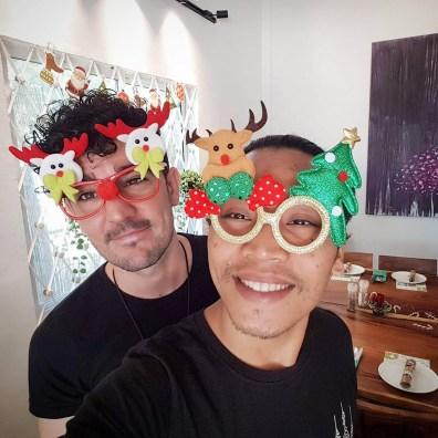 Christmas fun with Jason and Talo