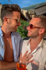 gay couple story sion ben globetrotter happy gay couple travel blogger