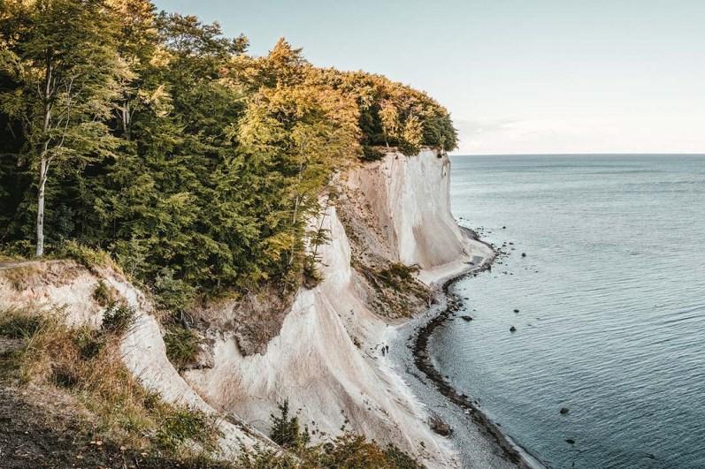 Rügens nature highlight The chalk cliffs