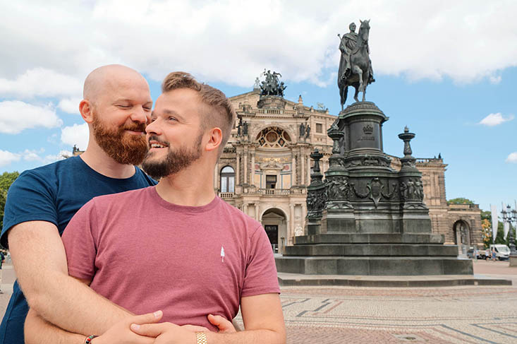 Our Gay Couple City Trip to Dresden in Saxony | Germany