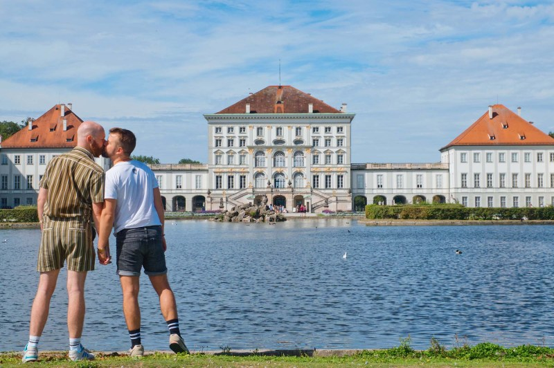 Munich Gay City Trip Munich Gay City Trip - Summer Fun at Nymphenburg Palace © Coupleofmen.com