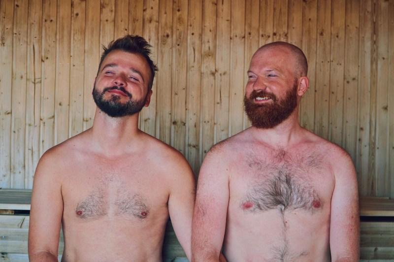 Ribersborgs Kallbadhus: Enjoying a day at Malmö's gay-friendly sauna together© Coupleofmen.com