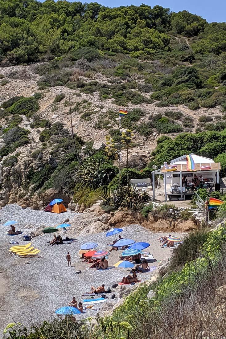 Sitges Gay Beach Playa del Hombre Muerto