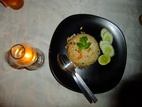 The classic Thai fried rice