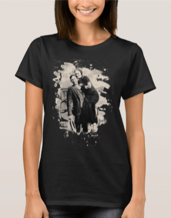 Bonnie and Clyde shirts
