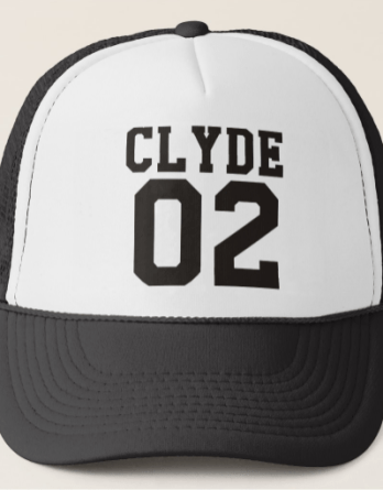 Bonnie and Clyde Trucker Hat Zazzle.com