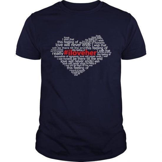 #Iloveher Hoodies Shirt