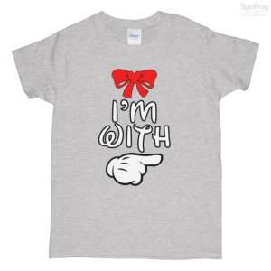 Im With Him Hoodie Premium T-Shirt