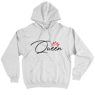Red Crown Queen Hoodie