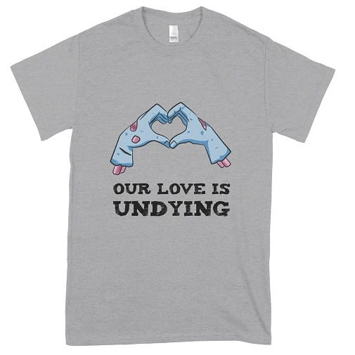 Our Love Is Undying Couples Halloween Hoodie - cheap halloween t shirts