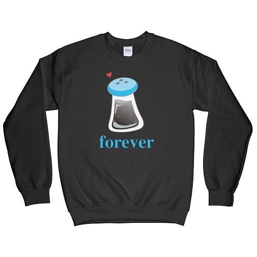 Salt Couple T-Shirt - cute couple sweatshirts