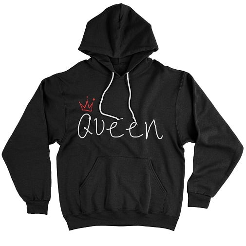 Ugly Whites Queen Sweatshirt - cute matching sweaters for couples