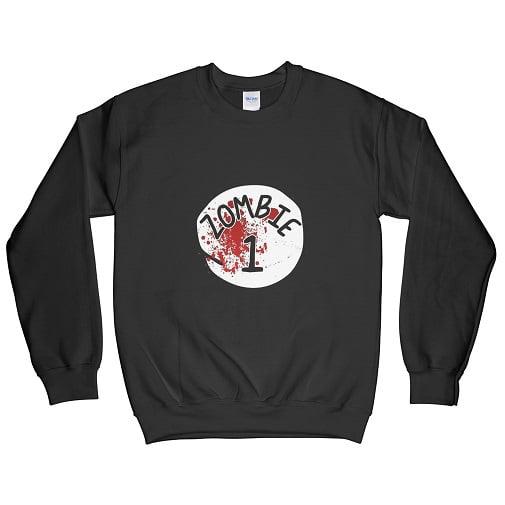 Zombie 1 couples halloween t shirts - womens halloween sweatshirts