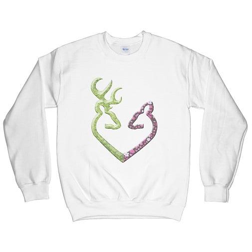 Buck N Doe Family Couple Hoodies - buck n doe sweatshirts