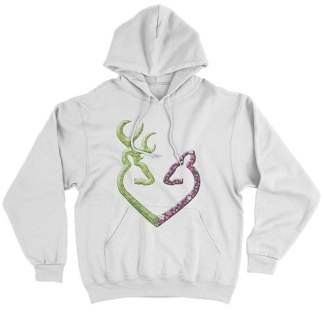 Buck N Doe Family Couple Hoodies