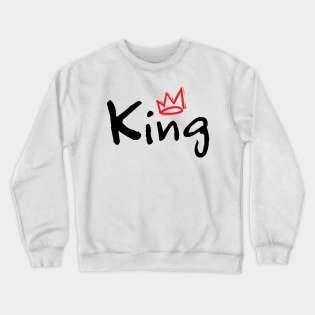 King and Queen Couple Sweatshirt