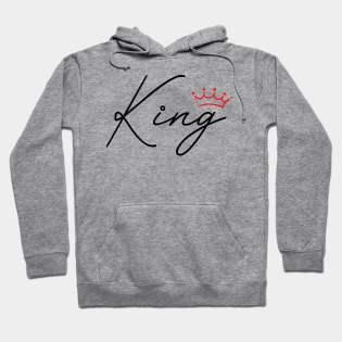 Crown King and Queen Hoodies