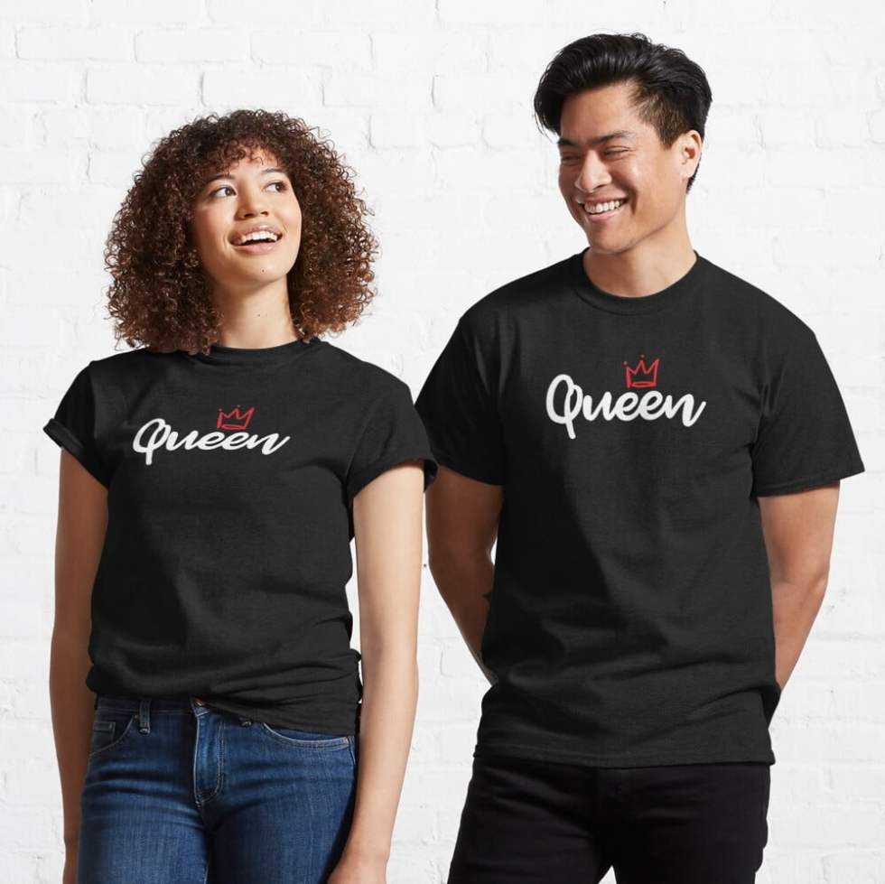 Best King and Queen Couple Shirts