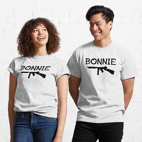 Bonnie and Clyde Couple Apparel
