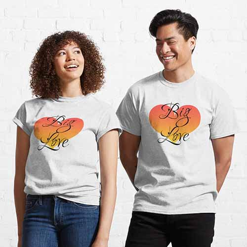 It Will Soon Be a Big Love Couple Classic T-Shirt