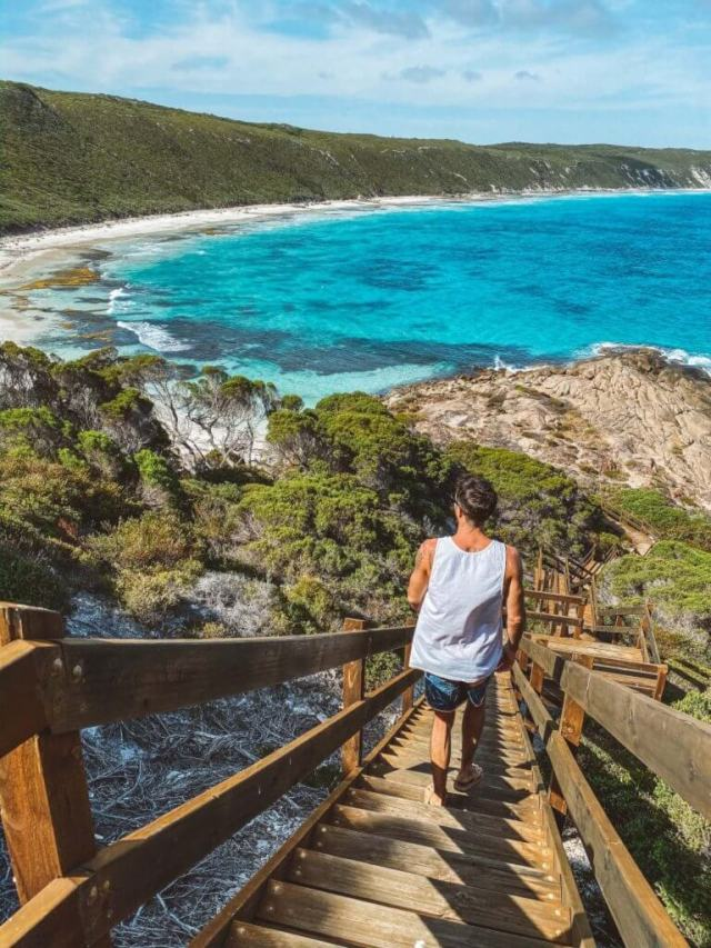 Couples coordonne esperance Western Australia Michael à Observatory Beach Great Ocean Drive
