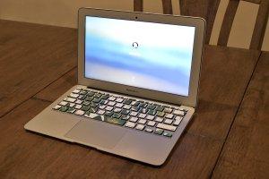 computer, laptop, login