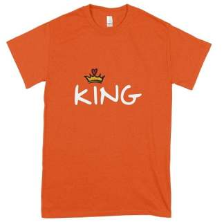 King T-Shirt Orange