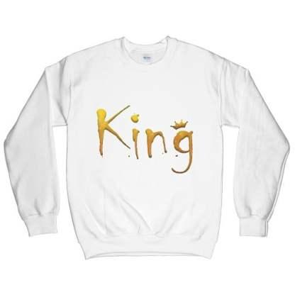 Yellow King Sweatshirt
