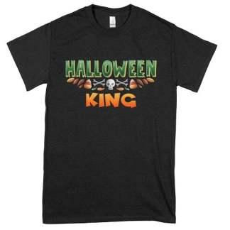 King Green Halloween T-Shirt