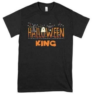 King Orange Halloween T-Shirt