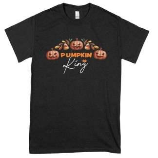King Three Pumpkins T-Shirt
