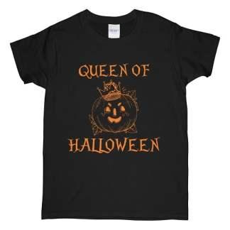 Pumpkin Queen Of Halloween T-Shirt