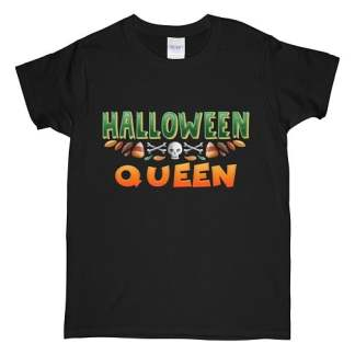 Queen Green Halloween T-Shirt