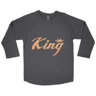 king baseball t-shirt