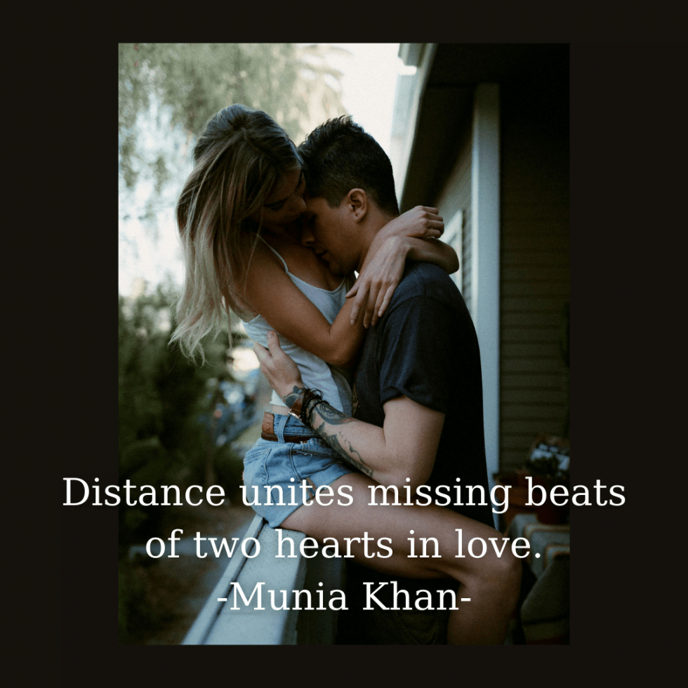 Long Distance Couple Quotes, Long Love Captions For Instagram